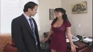 Eva Angelina la segretaria