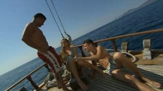 Doppia penetrazione in barca