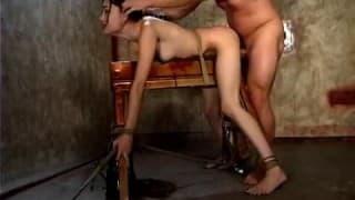 Sesso BDSM per Sasha Grey!
