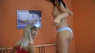 Due lesbiche stanno avendo un orgasmo in questo video XXX
