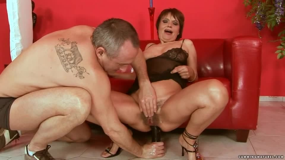 maturo Granny squirting