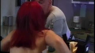 Una nana rossa scopata!