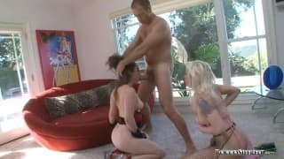 Charlotte Vale e Lorelie Lee gode del sesso con Rocco