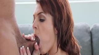 Kiera è cazzo in un casting porno