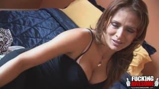 Monique Fuentes fa un frullato nella figa