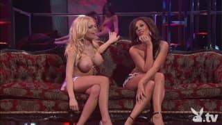 Jesse Jane e Kristen Price per show lesbo