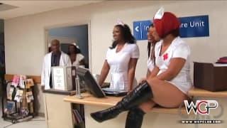 WCP CLUB - infermiere nere arrapate