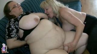 Queste due nonne sono due calde lesbiche