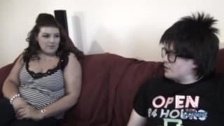 Lucy Lane in una grande scena porno con un nerd