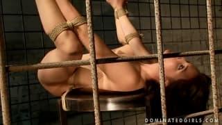 Una scena di bondage e dominazione