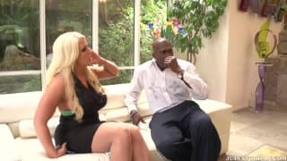 Alura Jenson montata da Lexington Steele