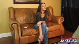 Vanessa Vania a un caldo casting porno