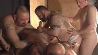 Ponno Di Uomini Grassi Gay