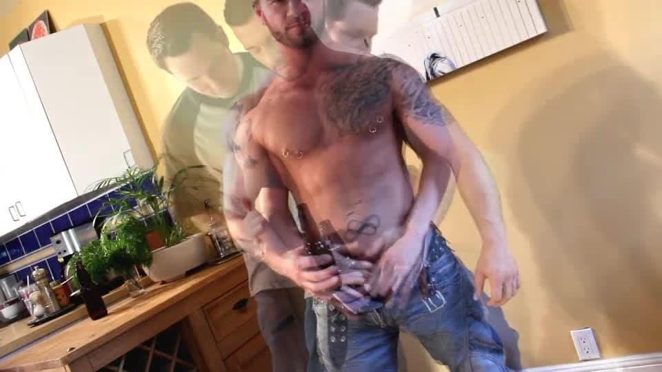 Muscoloso peloso porno gay