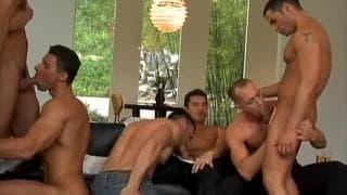 Uno strip tease che finisce in orgia