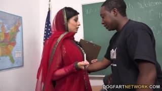 Nadia Ali una bianca in scuola di neri