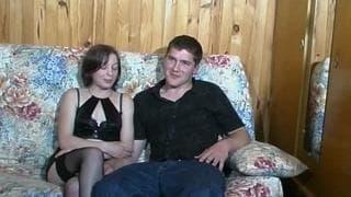Una coppia giovane e arrapata !