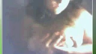 Una mora dalle grandi tette in webcam