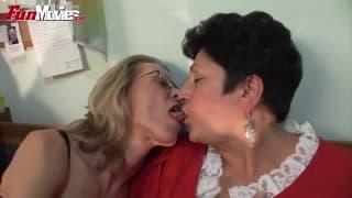 Gundi Moll una lesbica in calore