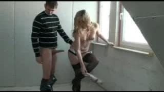 Una coppia tedesca che gira un bel video