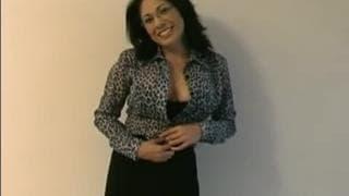 Una professoressa a un casting porno