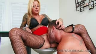 Britney Shannon insieme a Danny Mountain