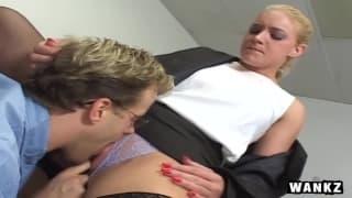 Bella scena sessuale per Heidi Mayne