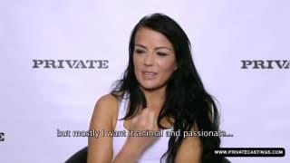 Samantha Joons in un casting molto intimo