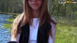 Una giovane russa penetrata per bene