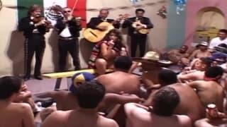 Un burrito messicano ripieno di sperma