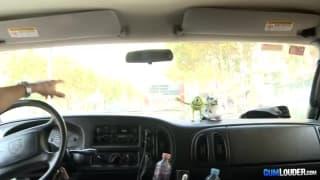 Nel furgone con la latina Iris Cool!