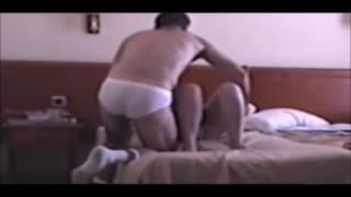 Una troia scopa in hotel con il suo uomo