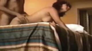 Bella scena di sesso di una coppia matura