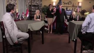 Un porno a sfondo politico da vedere