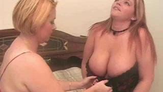 Samantha 38G e Eden in un caldo trio