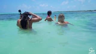 Ecco una vacanza piena di sesso al mare