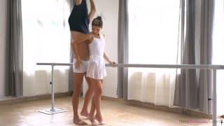 Una bella ballerina che ama scopare