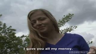 Oggi lei accetta di scopare per soldi
