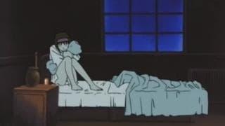 Un hentai con una ragazza maltrattata