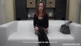 La bellissima Katerina a un casting porno