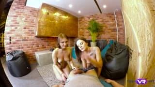 Un bel trio con Lita Phoenix e Carolin