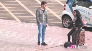 Una cagna spagnola che ama lo sperma