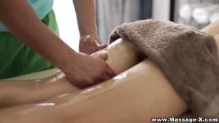 Olio massaggio sesso video
