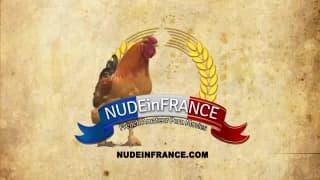 Una troia francese gode a questo casting