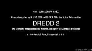 Jillian Janson scopa il cazzo di Dredd