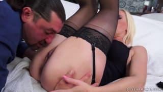 Maturo casting divano porno