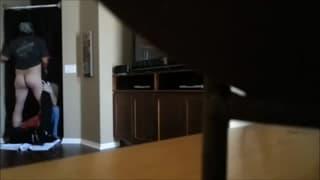 Una calda coppia gay filmata di nascosto